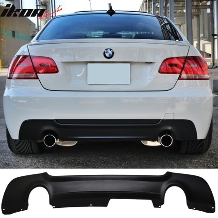 Bmx Bumper (Fits 07-13 BMW E92 335 Only MT Msport Rear Bumper Lip Diffuser - PP )