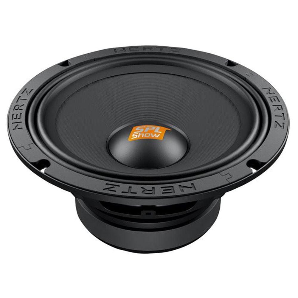 Hertz SV200.1 8 Inch 500W 4 Ohm Mid Range Car Audio Competition Speakers (Pair)
