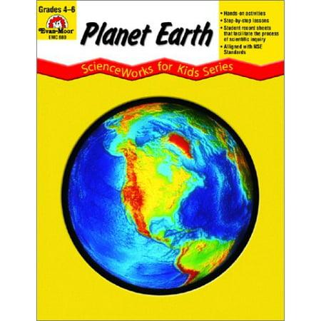 Planet Earth, Grades 4-6+ [Paperback] Evan Moor; Evan-Moor and Kathleen McKeehen
