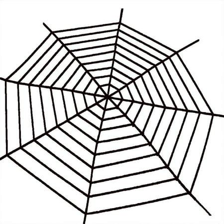 Huayang Black White Halloween Spider Webs Fiber Giant Cobweb