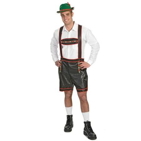 Bavarian Yodeler Lederhosen Costume Mens Medium - Mens Lederhosen Costume