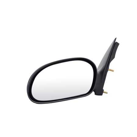 - For Ford Taurus Black Power Non Heated Replacement Driver Side Mirror (FD6929410-BL00)
