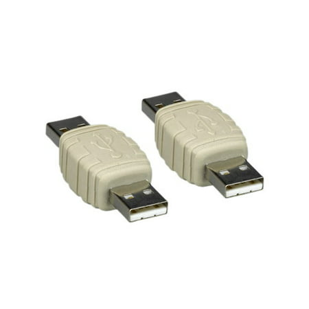 Kentek USB 2.0 Type A Male to Male M/M Gender Changer Adapter Coupler For PC Computer Laptop