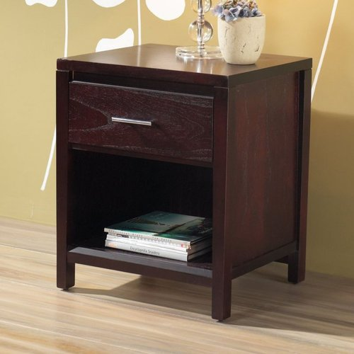 Modus Furniture NV2381 Nevis 1 Drawer Nightstand by Modus Furniture
