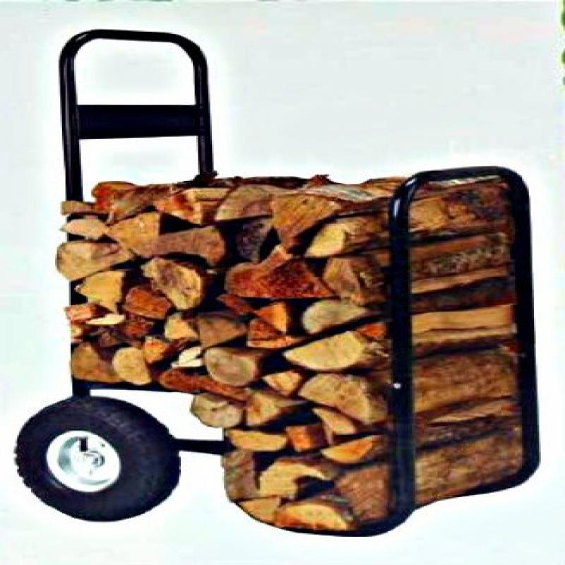 Landmann Firewood Hand Truck Caddy - With Cover - 200lb C...
