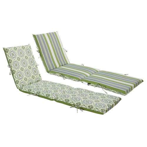 Bossima Outdoor Chaise Lounge Cushion