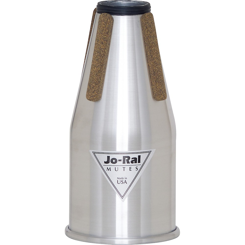 Jo-Ral FR-1A Non-Transposing Aluminum French Horn Straight Mute by Jo-Ral
