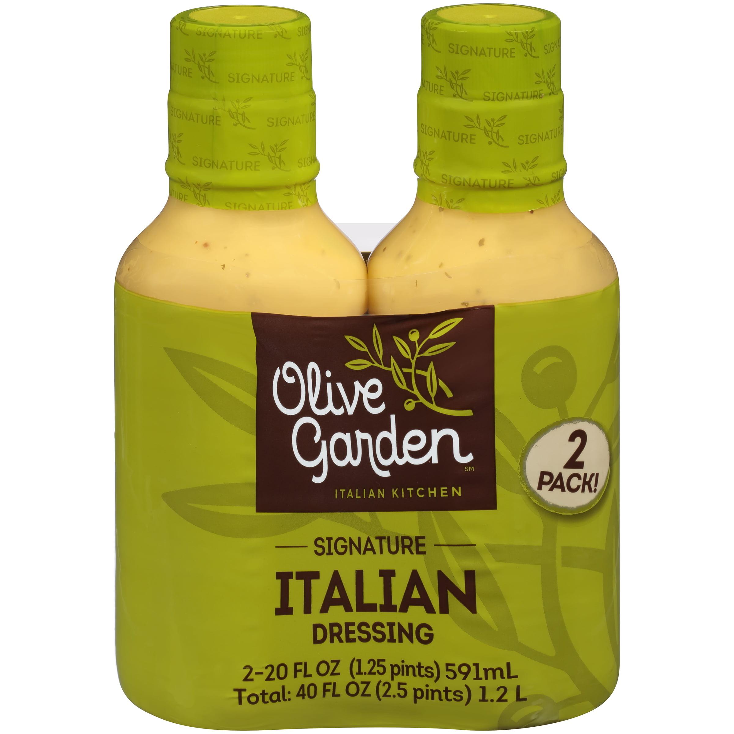 Olive Garden℠ Italian Kitchen Signature Italian Dressing 2-20 fl. oz ...