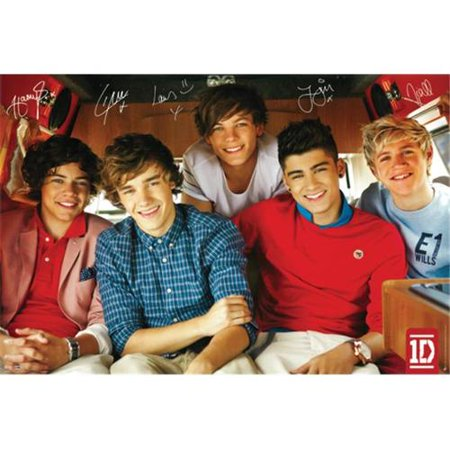 Hot Stuff Enterprise Z143-24x36-NA One Direction 2 Poster, 24 x 36
