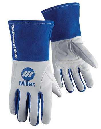 "MILLER ELECTRIC Welding Gloves,TIG,12"",XL,PR 263349"