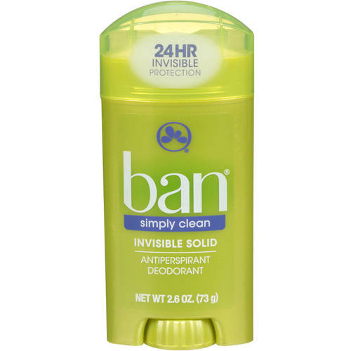 Ban Simply Clean Solid, 2.6 oz