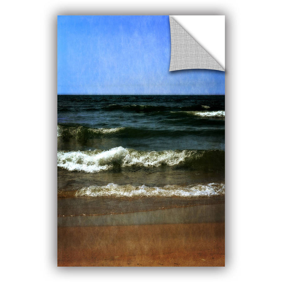 "ArtWall Kevin Calkins ""Summer Waves"" ArtAppealz Removable Wall Art"