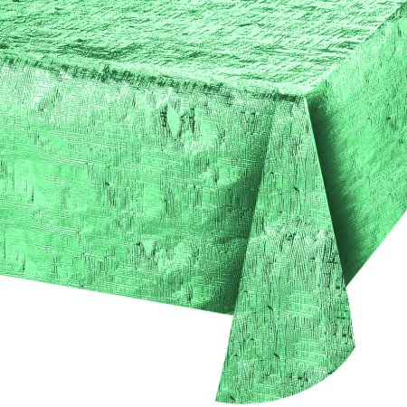 Ways to Celebrate Reversible Table Cover, Teal, 54 inches x 84 -