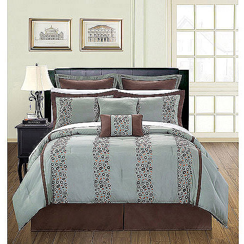 EverRouge Pebbles 12-Piece Bedding Comforter Set