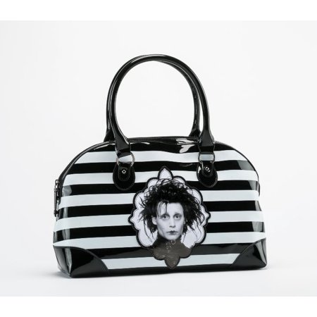 - Rock Rebel Edward Scissorhands PVC Vegan Vinyl Handbag Purse