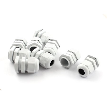 Unique Bargains PG11 5-10mm Wire Plastic Waterproof Cable Gland Fixing Connector Joints x 9 - image 1 of 1