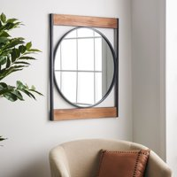 MoDRN Industrial Metal Wall Mirror