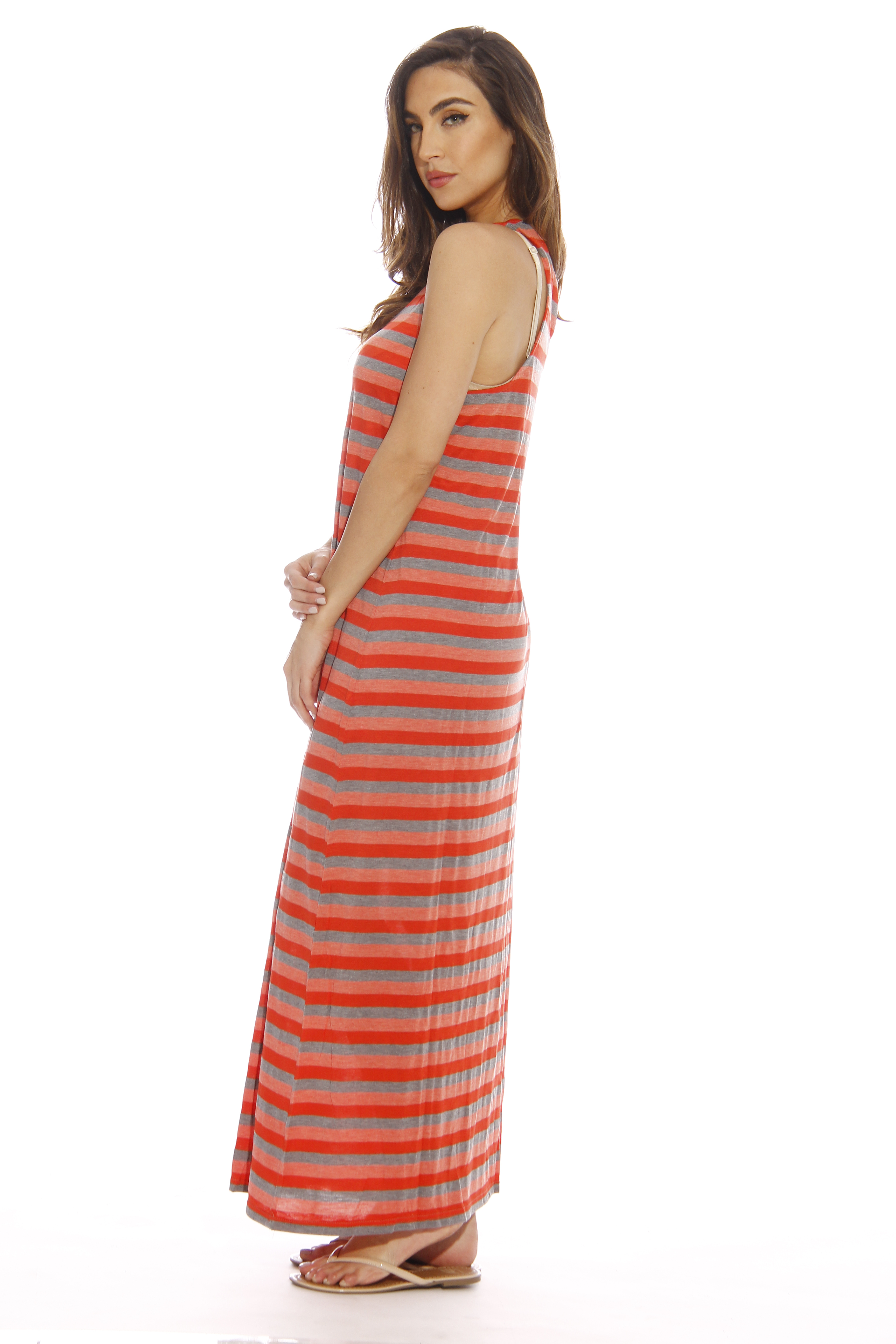 Maurice's Watermelon Maxi Dress