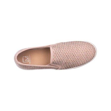 MG35 Eidyth Rhinestone Fashion Sneakers, Blush - image 3 of 6