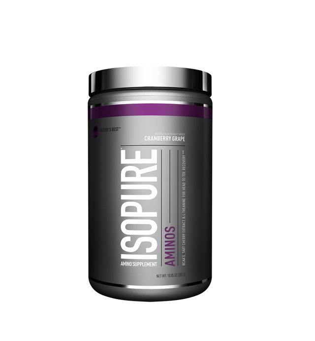 Isopure Aminos Powder, Cranberry Grape, 30 Servings