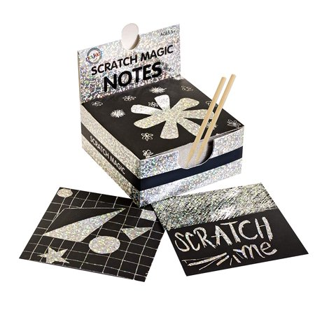 Scratch Paper Art (Scratch Art Kit � Magic Scratch Off Notes & [2] Stylus Tools for Kids & Adults � 100 Black Paper Sheets � Create)