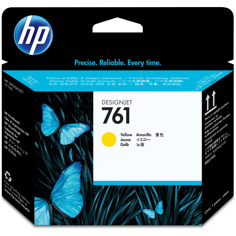 HP, HEWCH645A, CH645A/46A/47A/48A 761 Printheads, 1 Each