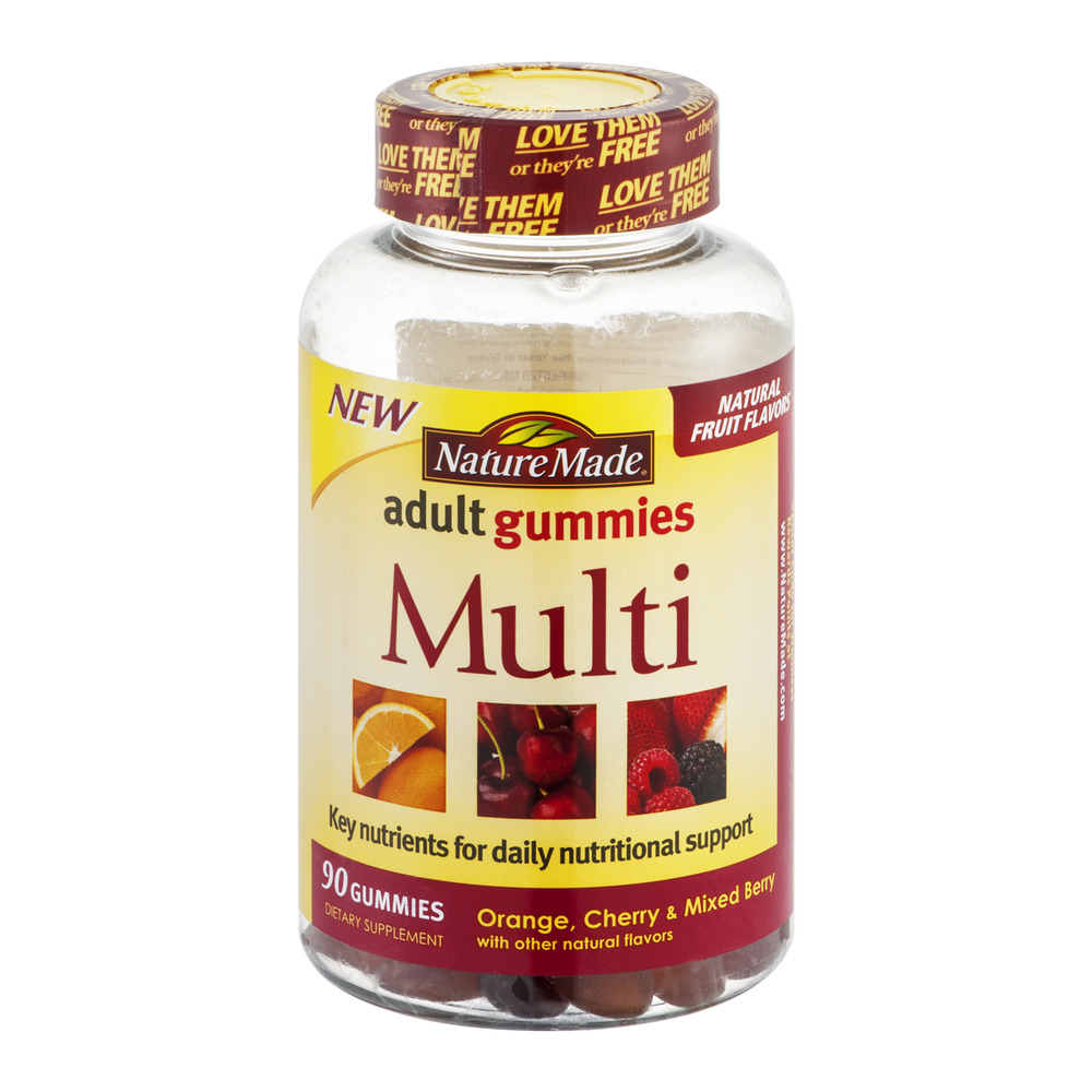 Nature Made Multi-Vitamin Adult Gummy, 90 Ct