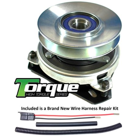 3014 P-trap Kit - Bundle - 2 items: PTO Electric Blade Clutch, Wire Harness Repair Kit.  Replaces Jacobsen 3014  PTO Clutch - Bearing Upgrade w/ Wire Repair Kit