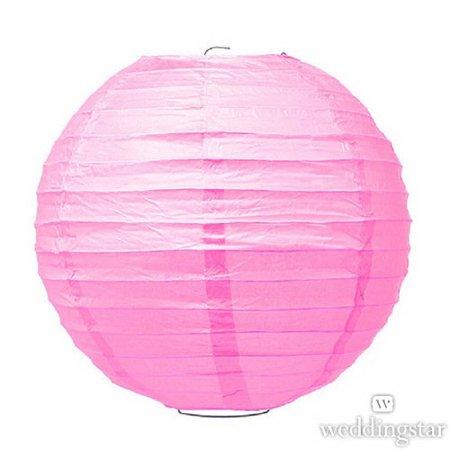 Weddingstar 43013-05 Large Paper Lantern - Pink](Large Paper Lanterns)