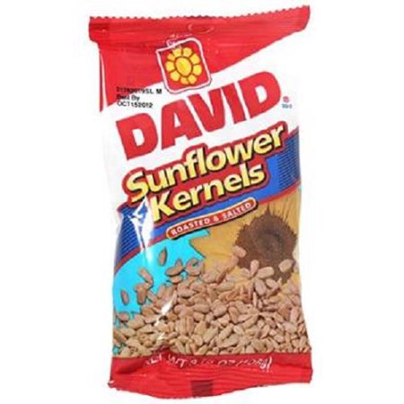 Product Of David, Sunflower Kernels, Count 12 (3.75 oz) - Sunflower Seeds / Grab Varieties & Flavors ()