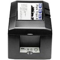 Refurbished Star Micronics TSP654II Series 39449470 Monochrome Thermal Printer with Cutter - 11.81 inch/second - 203 dpi - 24V DC - Gray