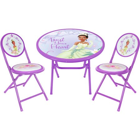 Disney Princess and the Frog Round Table and Chair Set - Walmart.com