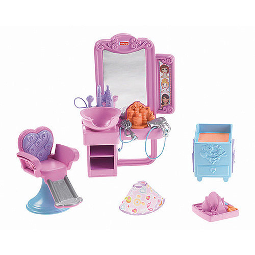 Fisher Price Loving Family Hidden Room Beauty Salon Play Set
