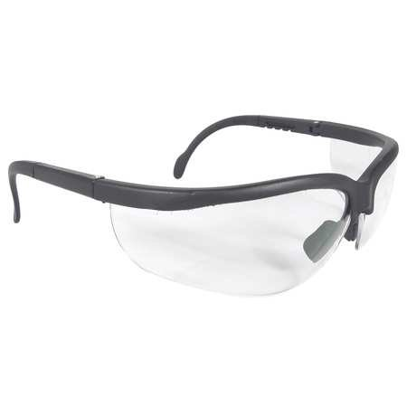 Radians Clear Safety Glasses, Scratch-Resistant, Wraparound, (Reading Glasses Stores)