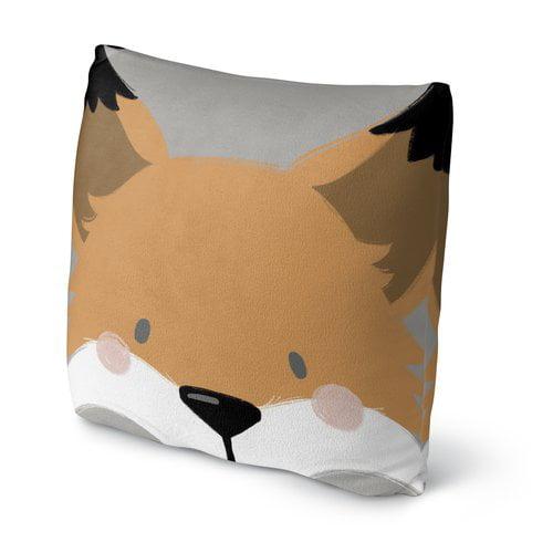 KAVKA DESIGNS Fox Throw Pillow