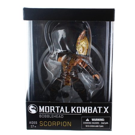 Mezco Toyz Mortal Kombat Arcade Block Exclusive Bloody Scorpion Bobble Head](Mortal Kombat Props)