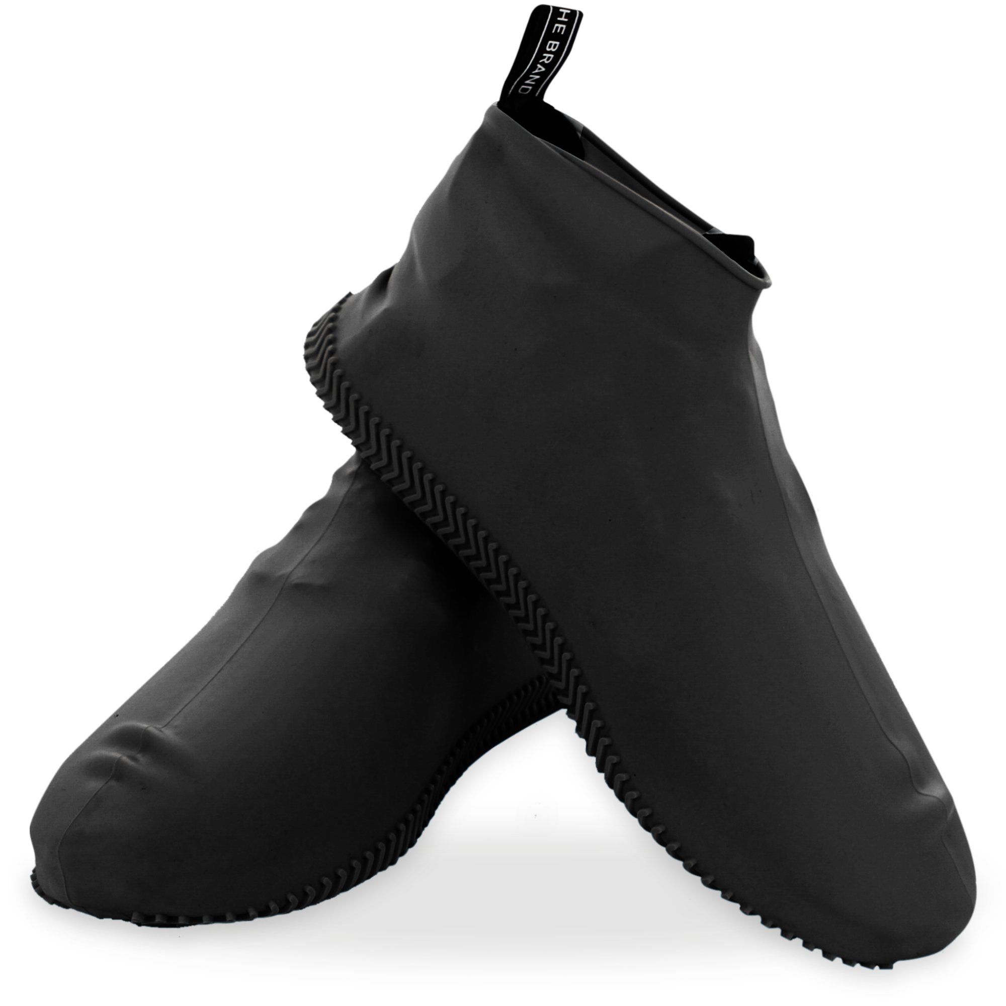 Silicone Shoe cover Outdoor Non-slip Waterproof Shoe Cover Thick Rain Boots M////L