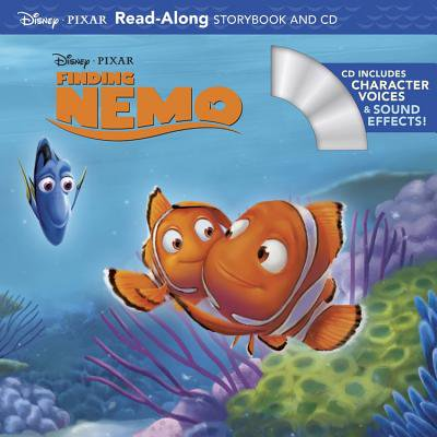 Finding Nemo Read-Along Storybook and CD (Halloween Story Read Along)
