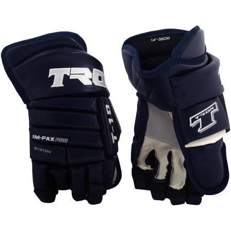 Tron T-10 Hockey Gloves (Navy)