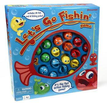 Pressman Toy Lets Go Fishing Board Game