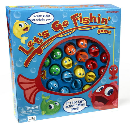 Pressman toy let 39 s go fishin 39 game for Go fish instructions