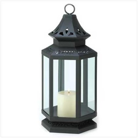 C. Alan 13363 Large Black Stagecoach Lantern - Large Black Lanterns