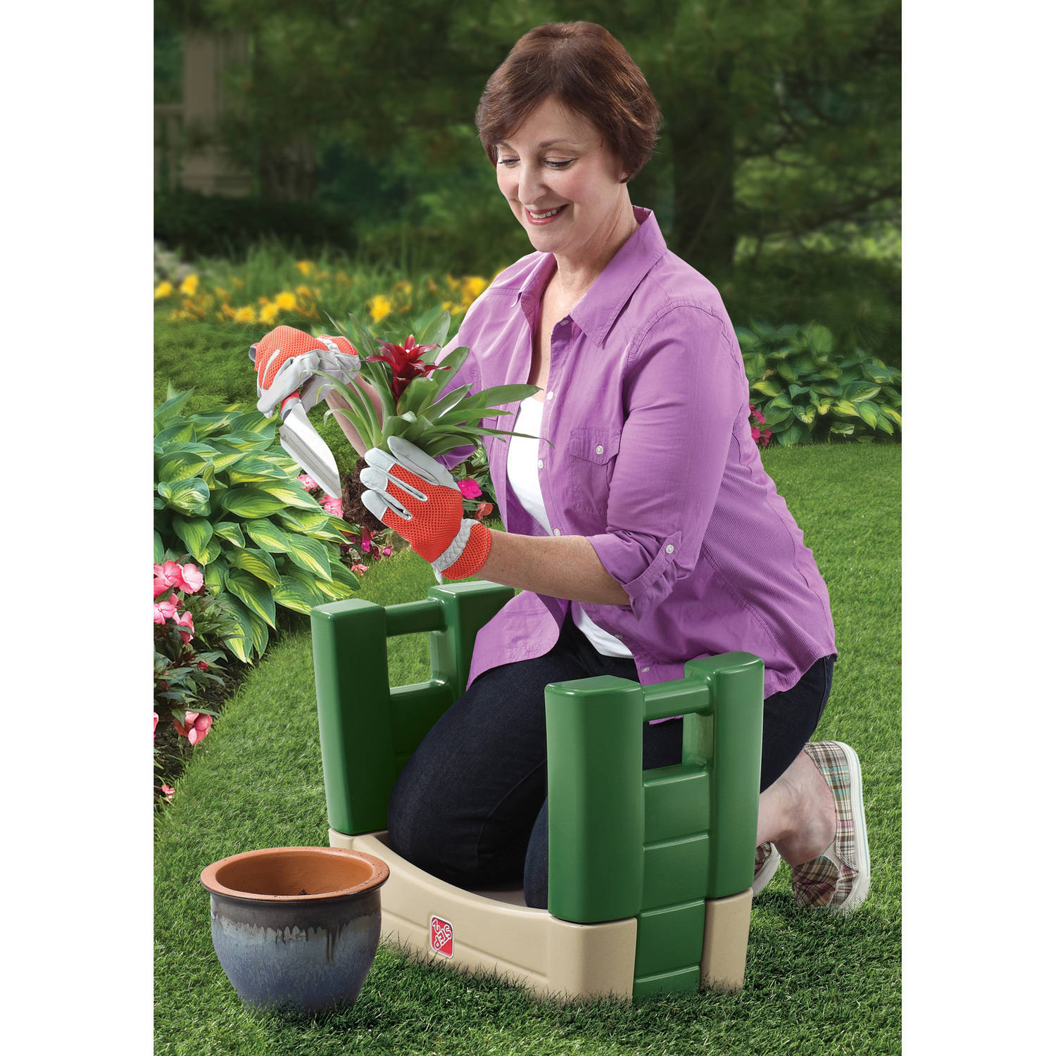 Step2 Garden Kneeler, Green