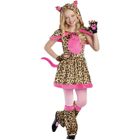 Cattitude Girls' Toddler Halloween Costume, Small