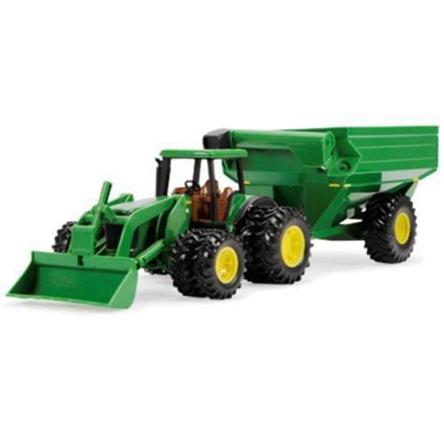 """Ertl John Deere 8"""" Tractor With Grain Cart by"""
