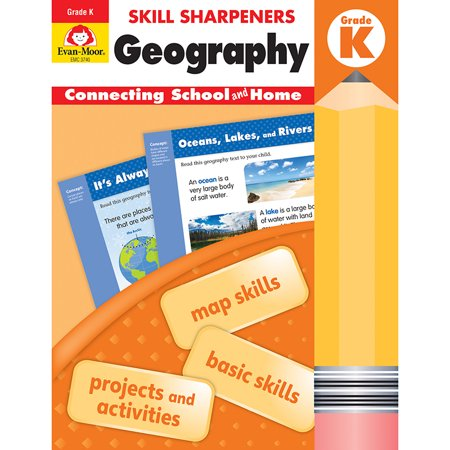 Skill Sharpeners Geography Gr K - image 1 of 1