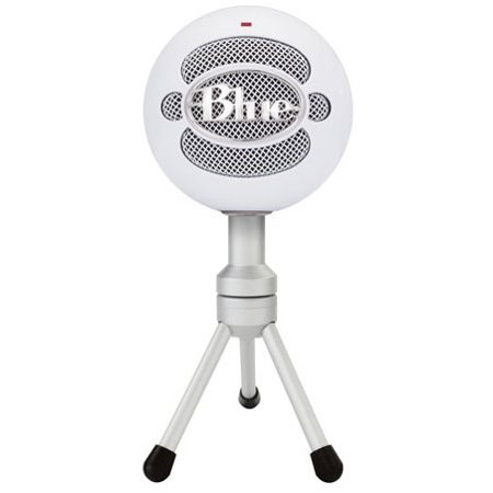 Blue Microphones Snowball ICE Blue Microphones Snowball iCE Microphone - 40 Hz to 18 kHz - Wired - 6 ft - Condenser - Desktop - USB