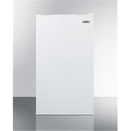 Summit CM406WBI 2.93 cu. ft. Built-in Undercounter Refrigerator-Freezer, White 24 Undercounter Built In Refrigerator