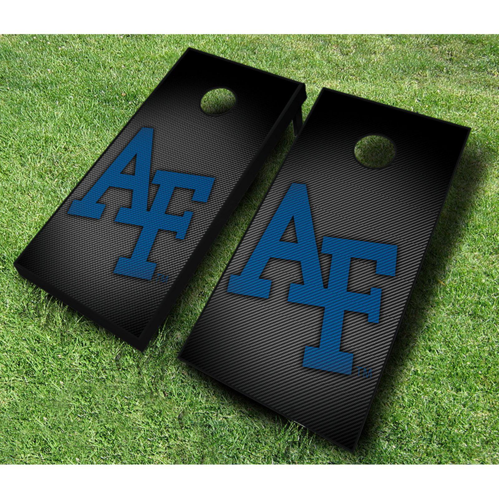 NCAA Air Force Falcons Slanted Cornhole Set by AJJ Cornhole