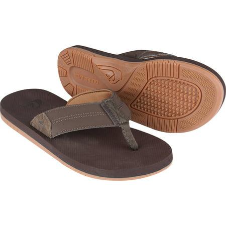 Quiksilver Mens Coastal Oasis II Beach Casual Sandals - Dark Brown